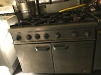 Commercial cooker burner catering equipments gas oven