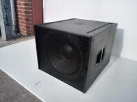 """d&B Q-Sub 18"""" Passive Loudspeaker"""