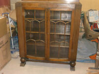 Edwardian Glass-fronted Cabinet