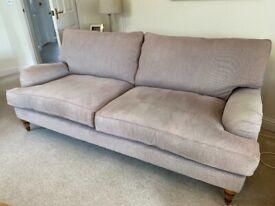 Large 2 seat sofa John Lewis brand