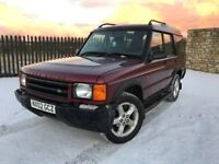 2002 02 LANDROVER DISCOVERY 2.5 TD5 SERENGERI *7 SEATER, DIESEL* 5 DOOR 4x4 - ONLY 3 FORMER KEEPERS!