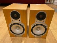 Monitor Audio Silver RS1 Speakers in Cherry. Superb condition.