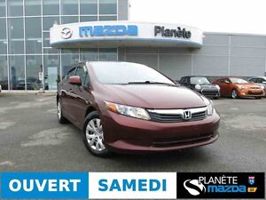 2012 HONDA CIVIC AUTO AIR CRUISE BLUETOOTH