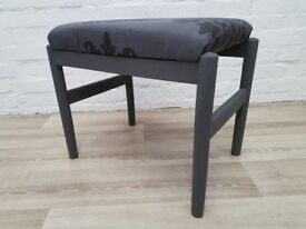 Chalk painted Dressing Table Stool (DELIVERY AVAILABLE)