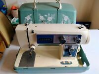 3x electric sewing machines