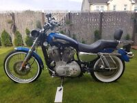 Harley-Davidson XL883C Sportster Custom Low Mileage Great Condition Lots Extras