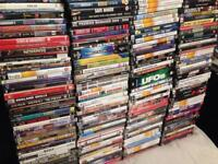 200 DVDs and games