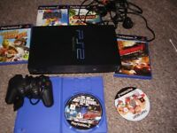 PLAYSTATION 2 WITH TOP GAMES