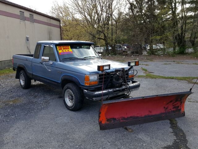 Imagen 1 de Ford Ranger  blue