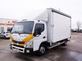 Choice of 5 - 2014 (64 Reg) Mitsubishi Fuso Canter 7C15 Hybrid Diesel / Electric all low mileage