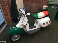 vespa pk125 italian import 1989 very rare nice clean bike with mot