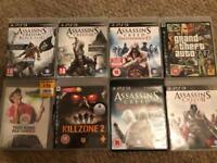 X8 PlayStation 3 games