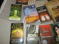 20 Thriller Books various authors £8 the Lot