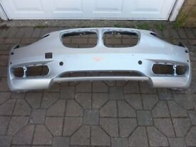 BMW 1 Series Front Bumper - Silver