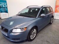 2008/08 VOLVO V50 D SE , 2400 CC , POSSIBLY THE FINEST DIESEL ENGINE IN THIS MODEL FANTASTIC HISTORY