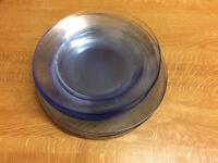 24 piece dinnerware set - used