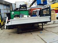 12ft one stop flatbed body as new