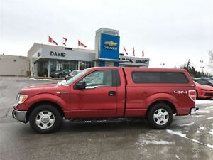 2010 Ford F-150 XLT REG 4WD SHORT, ALLOYS, LOCAL TRADE!!
