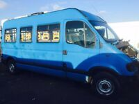 Renault master mini bus breaking spare parts