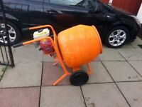 BELLE HONDA PETROL CEMENT MIXER REFURBISHED