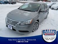 2013 Nissan Sentra 1.8 SV! ONLY 10 KM! Clean CP! Trade In!