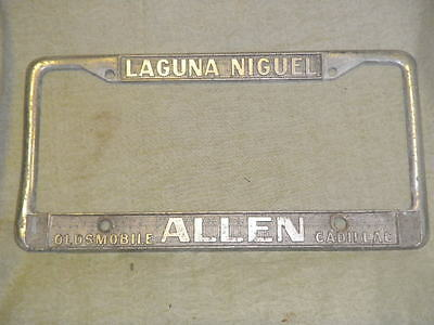 Used Cadillac License Plate Frames for Sale