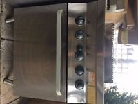 Two Stainless Steel Electrolux Ovens
