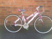 NEW Falcon Modena Womens Ladies Alloy Hybrid Bike RRP £299