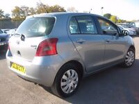 TOYOTA YARIS 1.0 NEW SHAPE 56 REG *** CHEAP TO TAX AND INSURE *** 5 DOOR HATCHBACK