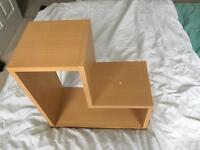 """Pine Effect """"L"""" Shapes Shelves"""