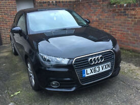Audi A1 2013 (63) 1.4 TFSI Sport 3dr Hatchback Manual - Black - 27500 miles - One previous owner