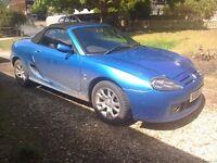 Mg TF soft top convertible 2005