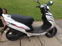 2014 50cc moped & lots of accessories