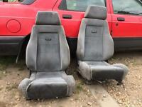 Recaro seats rs turbo Sierra cosworth fiesta rs turbo Xr2 xr2i