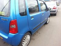 SUZUKI WAGON R** 1.3L**MOT TILL MAY 2018**DRIVES GREAT**SERVICE HISTORY**LOW MILEAGE