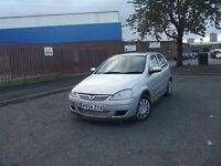 VAUXHALL CORSA 1.4ltr LONG MOT-LOW MILEAGE