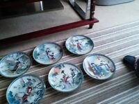 Beauties of the Red Mansion Porcelain Plates