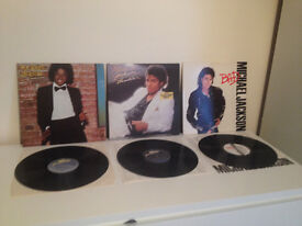 Michael Jackson x3 Vinyl Bundle - Thriller, Bad, Off The Wall