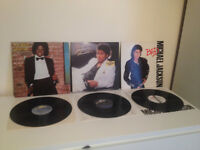 Michael Jackson x3 Vinyl Bundle - Thriller, Bad, Off The Wall