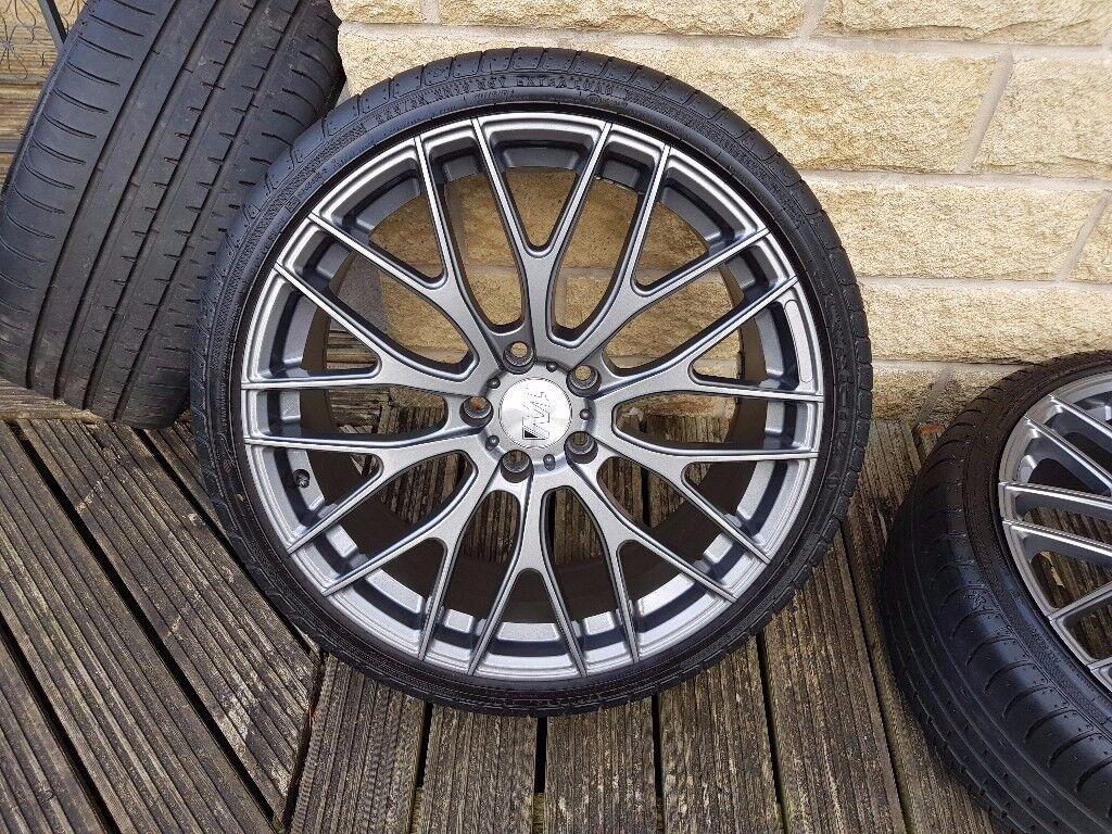 As New 19 Quot 1av Zx2 Alloy Wheels Tyres 5x112 Et45 In Huddersfield West Yorkshire Gumtree