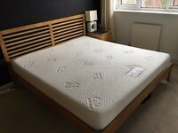 SUPER KING SIZE MEMORY FOAM MATTRESS - £120 ono