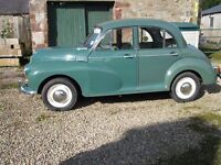 Morris Minor 1000 Four Door --- DEPOSIT TAKEN