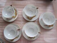 Vintage tea set - Japanese design
