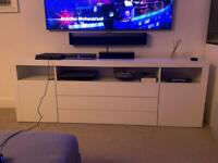 White Gloss Sideboard / TV unit
