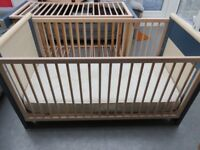 Selling two identical cots/beds.