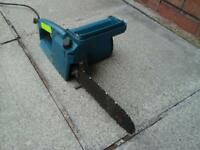 Black & Decker electric chainsaw