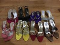 Ladies sandals size 4 and size 5 bundle