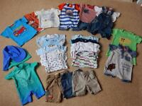 Baby summer clothes bundle 3-6 months