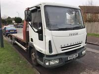 IVECO EUROCARGO 75E17 05 PLATE RECOVERY TRUCK £3250 NO VAT