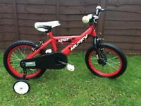 Huffy bike with stabilisers